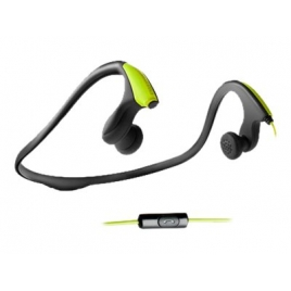 Auricular + Microfono Energy Earphones Running ONE Neon Green