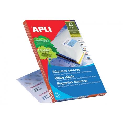 Caja Etiquetas 100H Apli 38X21.2 01283