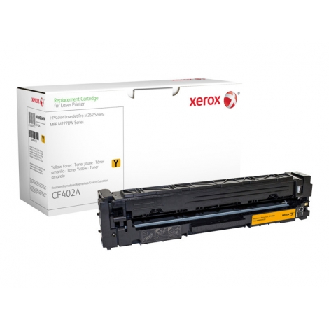 Toner Xerox Compatible HP 201A Yellow 1400 PAG