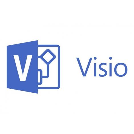 Microsoft Visio 365 Professional Academic Anual OLP Renovacion