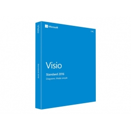 Microsoft Visio Standard 2016 PLK 32/64 BIT PKL ESD Descarga
