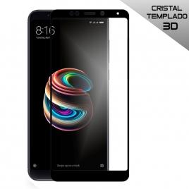 Protector de Pantalla HT Cristal Templado 3D Black para Xiaomi Redmi 5 Plus