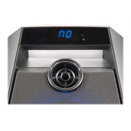 Altavoz Bluetooth Conceptronic Disco 20W USB SD + LUZ LED + Microfono + Karaoke Grey