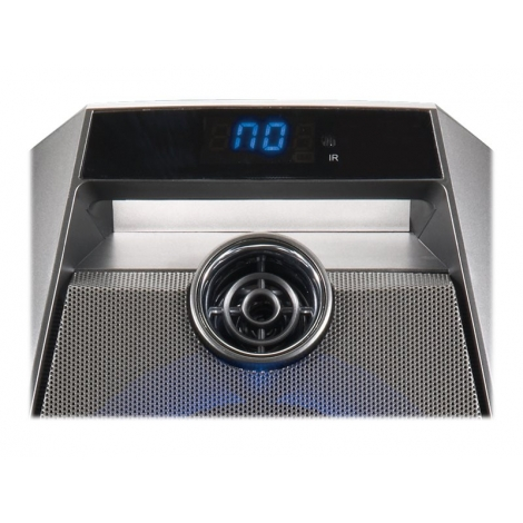 Altavoz Bluetooth Conceptronic Disco 20W USB SD + LUZ LED + Microfono + Karaoke Grey