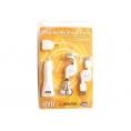 Cargador USB Celly Utc011a Multiples Clavijas Europa para Casa White