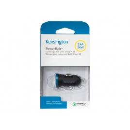 Cargador USB Kensington 2.4A Black/Blue para Coche