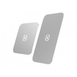 Placa Metalica Universal Celly Silver para Soporte Ghost