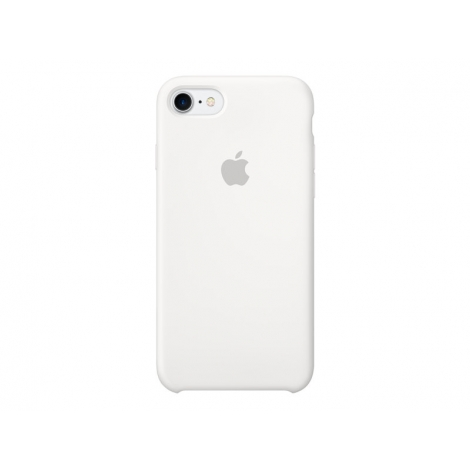 Funda iPhone 7 Apple Silicone Case White