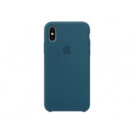 Funda iPhone X Apple Silicone Cosmos Blue