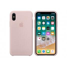 Funda iPhone X Apple Silicone Pink Sand