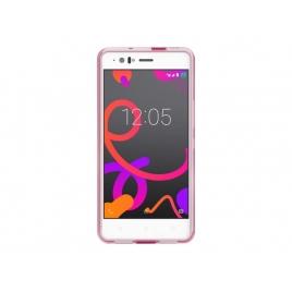 Funda Movil Back Cover Bq Gummy Aquaris M5 Pink