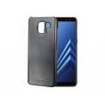 Funda Movil Back Cover Celly Ghost Magnetic Black para Samsung A8 2018