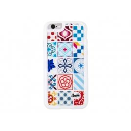 Funda Movil Back Cover Silver HT Ceramic Modernism para iPhone 5/5S/SE