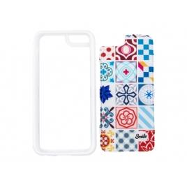 Funda Movil Back Cover Silver HT Ceramic Modernism para iPhone 6/6S Plus