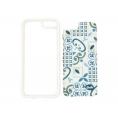 Funda Movil Back Cover Silver HT Ceramic Porcelain para Samsung Galaxy S7 Edge