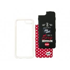 Funda Movil Back Cover Silver HT Dress me Lolita 2 EN 1 para Samsung Galaxy S7 Edge