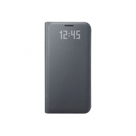 Funda Movil Samsung LED View Cover Black para Galaxy S7
