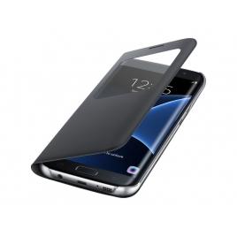 Funda Movil Samsung S View Cover Black para Galaxy S7 Edge