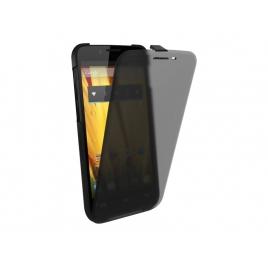 Funda Second Skin Bq Aquaris 5 HD con Cierre Case Black + Tapa Black