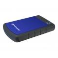 "Disco Duro Transcend 1TB Storejet 25H3 USB 3.0 2.5"" Black/Blue"