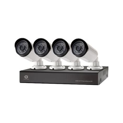 KIT Videovigilancia Conceptronic 4 Camaras Int/Ext + Grabador 4 Canales 2TB