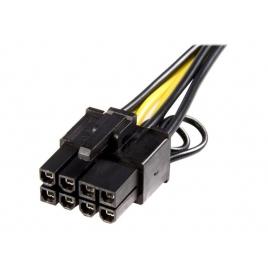Adaptador Startech PCIE 6P Hembra / PCIE 8P Macho