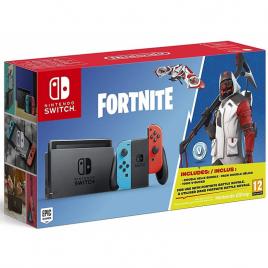 Consola Nintendo Switch Red/Blue + Fornite Codigo Descarga
