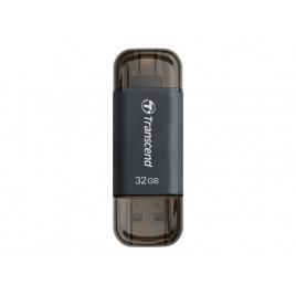 Memoria USB Transcend 32GB Jetdrive GO 300 USB 3.1 Lightning Space Grey