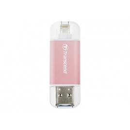 Memoria USB Transcend 64GB Jetdrive GO 300 USB 3.1 Lightning Rose