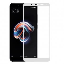 Protector de Pantalla HT Cristal Templado 3D White para Xiaomi Note 5 / 5 PRO