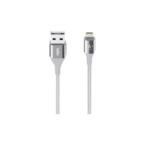 Cable Belkin Mixit Duratek USB 2.0 a Macho / Lightning Macho 1.2M Silver