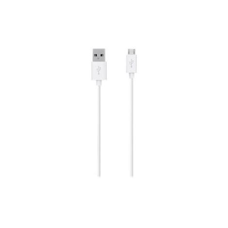 Cable Belkin USB 2.0 a Macho / Micro USB B Macho 2M White