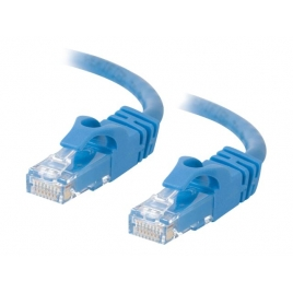 Cable C2G red RJ45 CAT 6 7M Blue