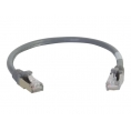 Cable C2G red RJ45 CAT 6A 5M Grey