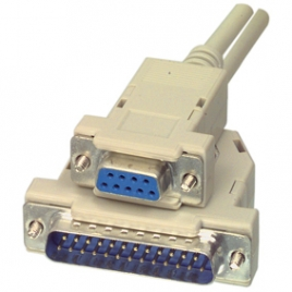 Cable Kablex 25 Macho / 9 Hembra 1.8M