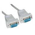 Cable Kablex 9 Macho / 9 Macho Null Modem 5M
