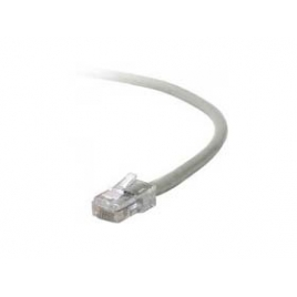 Cable Kablex red RJ45 CAT 5 0.5M Grey