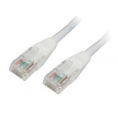Cable Kablex red RJ45 CAT 5 0.5M White