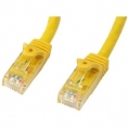 Cable Kablex red RJ45 CAT 5 0.5M Yellow