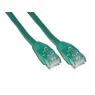 Cable Kablex red RJ45 CAT 6 1M Green