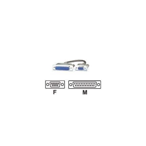 Cable MCL 9 Hembra / 25 Macho 2M