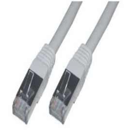 Cable MCL red RJ45 CAT 6 FTP Apantallado 20M Grey