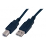 Cable MCL USB 2.0 A-B 3M