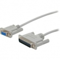 Cable Startech 9 Hembra / 25 Macho Null Modem 3M