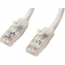 Cable Startech red RJ45 CAT 6 15M White