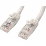 Cable Startech red RJ45 CAT 6 3M White