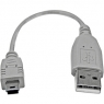 Cable Startech USB Mini B Macho / USB 2.0 a Macho 0.15M