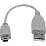 Cable Startech USB Mini B Macho / USB 2.0 a Macho 0.15M