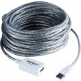 Cable Trendnet USB 2.0 a Macho / a Hembra 12M