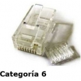 Conector Microconnect RJ45 Categoria 6 Pack 100U